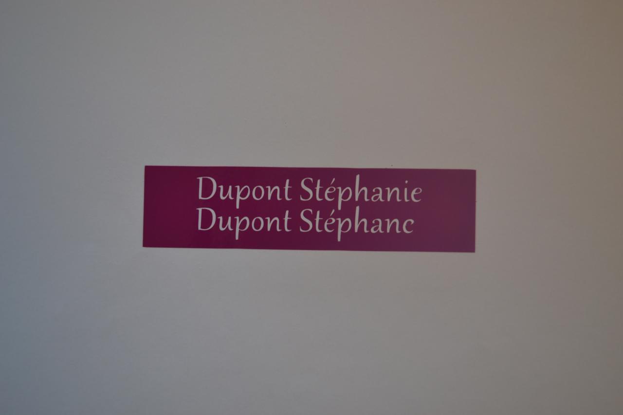 Stickers étiquettes boites aux lettres