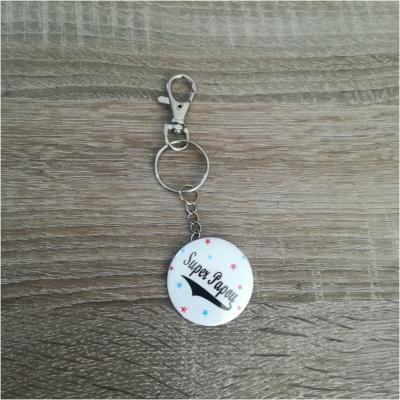 Porte clé badge super .....