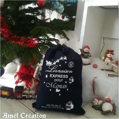 Hotte de Noël XL - Livraison express pour + traineau