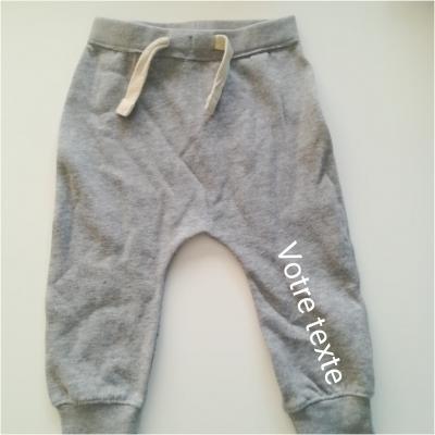 Sarouel gris 6-12mois