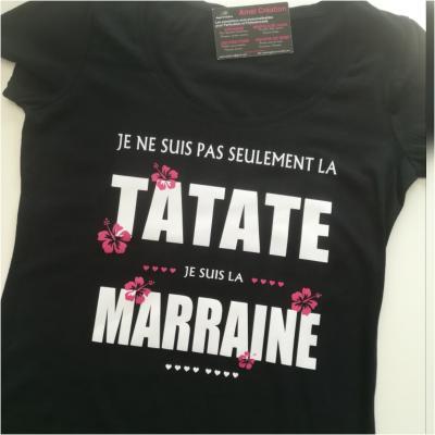 Tee shirt MC femme - Je ne suis as seulement la...