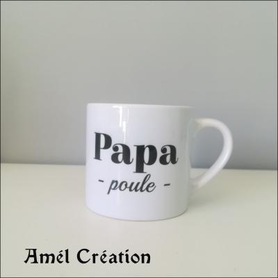 Petite tasse - Papa poule