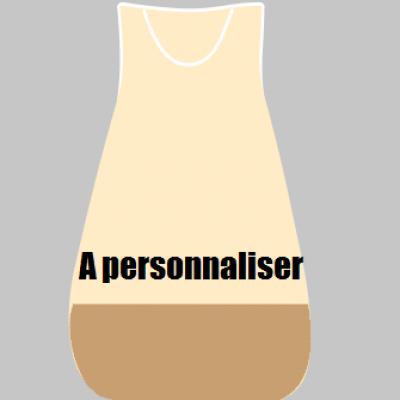 Gigoteuse HIVER beige et marron - A personnaliser