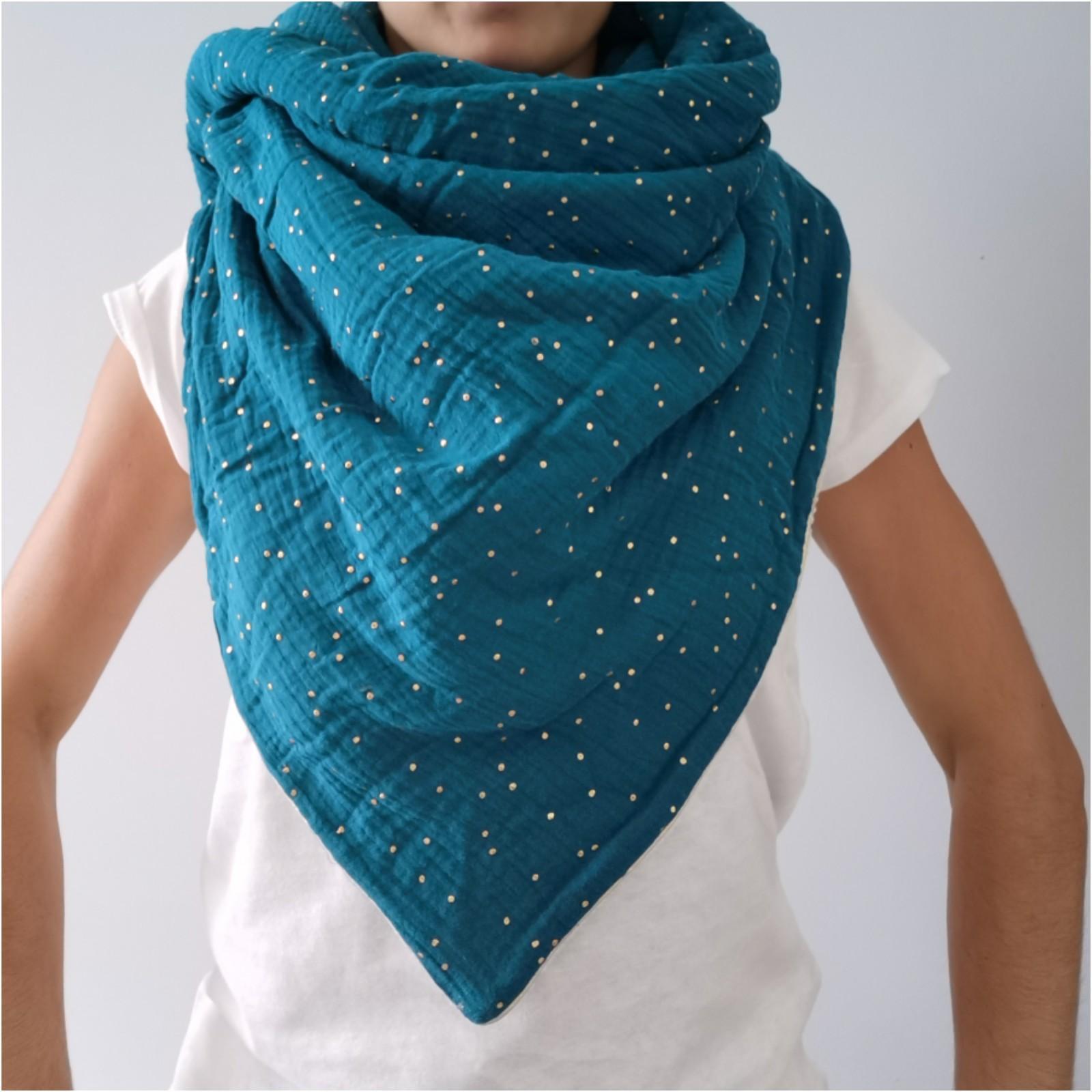 Bleu strass or
