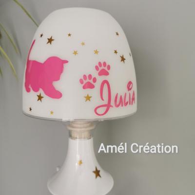 Lampe de chevet - Modèle Chat