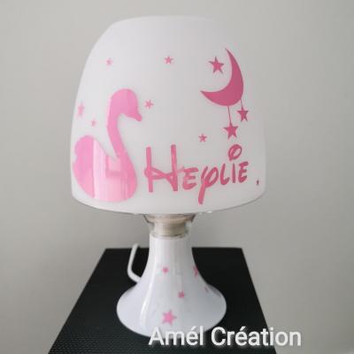 Lampe de chevet - modèle cygne