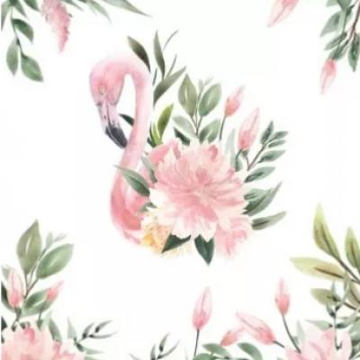 Plaid - flamant rose