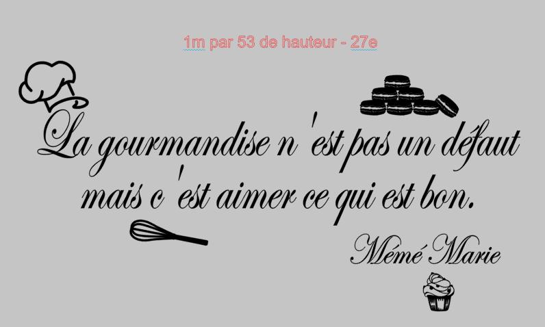 Gourmandise