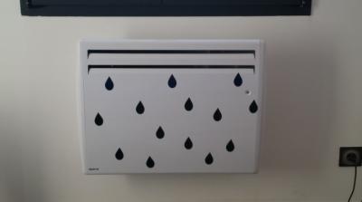 Stickers gouttes d'eau style scandinave - 1couleur