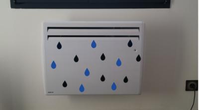 Stickers gouttes d'eau style scandinave - 2 couleurs
