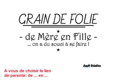 Tee shirt ML - Grain de folie de ... en ...