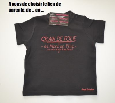 Tee shirt MC - Grain de folie de ... en ...