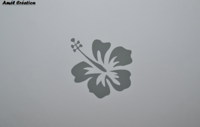 Stickers hibiscus
