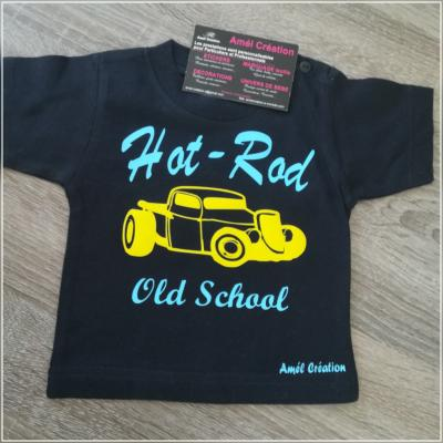 Tee shirt MC - Hot rod