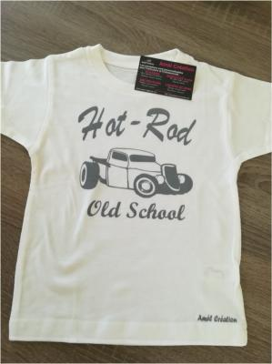 Tee shirt enfant MC - Hot rod