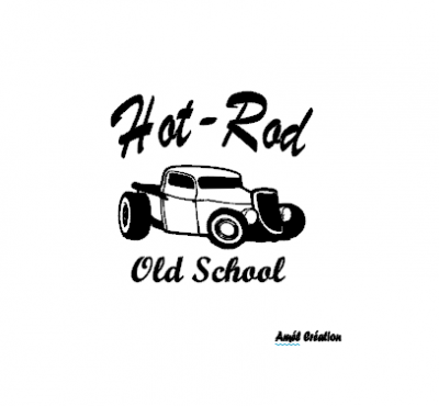 Tee shirt ML - Hot rod