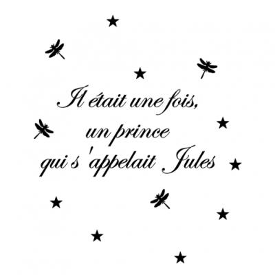 Stickers il était une fois une princesse