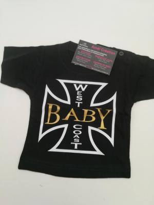 Tee shirt noir 6mois