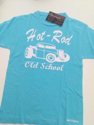 Tee shirt bleu 8ans