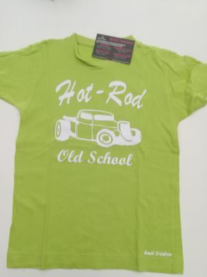 Tee shirt vert 6ans