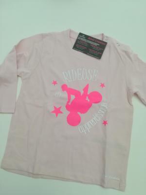Tee shirt bébé rose Manche Longue 18-24mois