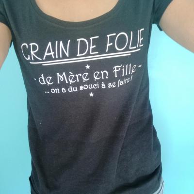 Tee shirt MC femme - Grain de folie