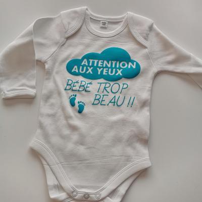Attention au yeux bébé trop beau