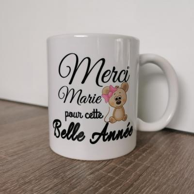 MUG  - Modèle Merci petit souris