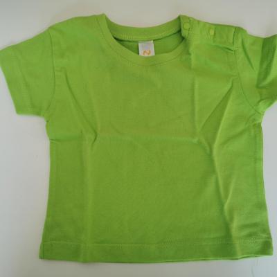 Tee shirt vert 6-12mois