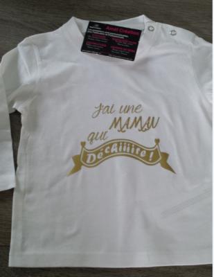Tee shirt ML - J'ai une maman qui déchire