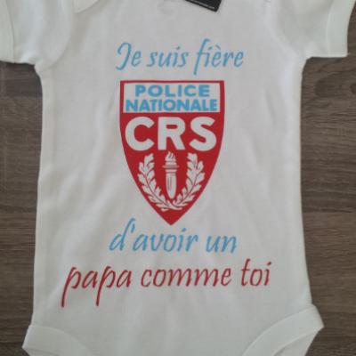 Je suis fier(e) d'avoir un papa comme toi - CRS