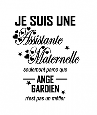 Sticker Assitante maternelle