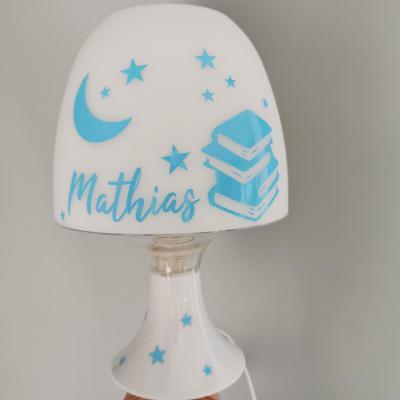 Lampe de chevet - modèle livre lune