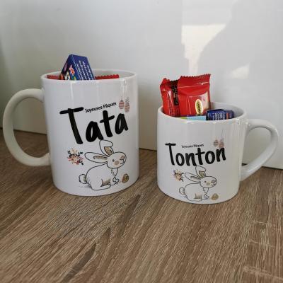 Lot de 2 mug ou tasse à vous de choisir