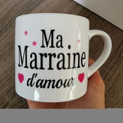 Petite tasse - ma marraine d'amour(ou autre texte)