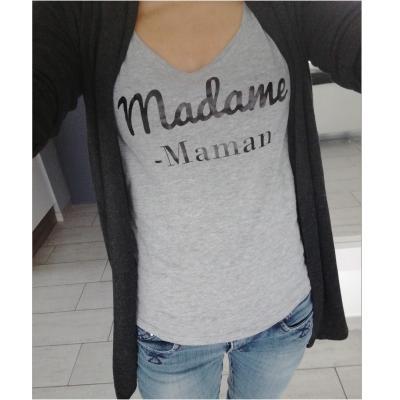 Tee shirt MC femme - Madame maman