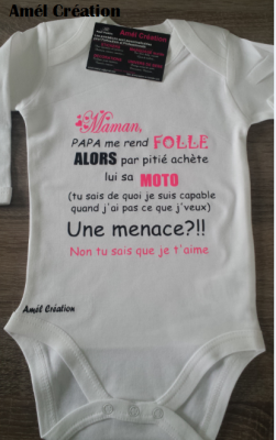 Body ML - Maman, Papa me rend fou(folle) achète lui ... menace?