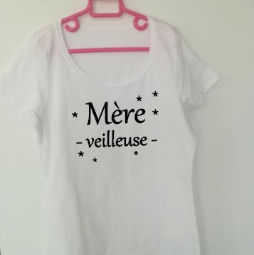 Tee shirt MC femme - Mère veilleuse