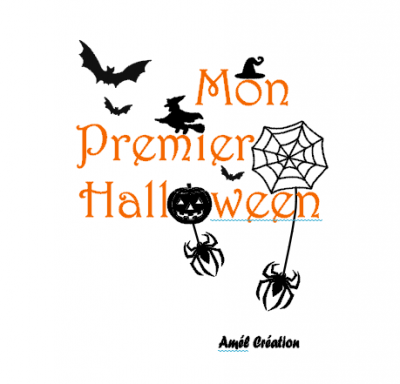 Tee shirt ML - Mon premier Halloween