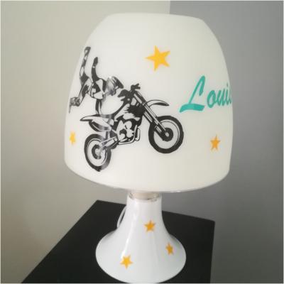 Lampe de chevet - modèle moto cross