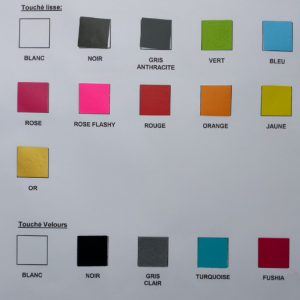 Nuancier textiles 5
