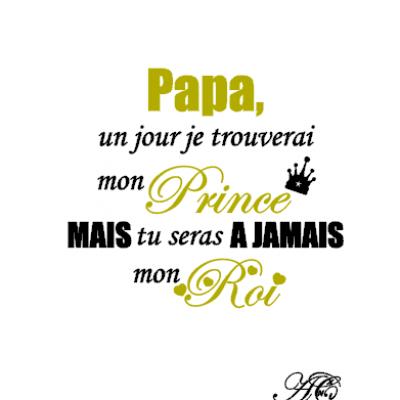 Tee shirt MC homme - Papa un jour je trouverai mon prince