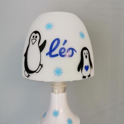 Lampe de chevet - modèle pingouins