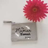 Porte monnaie maman d amour