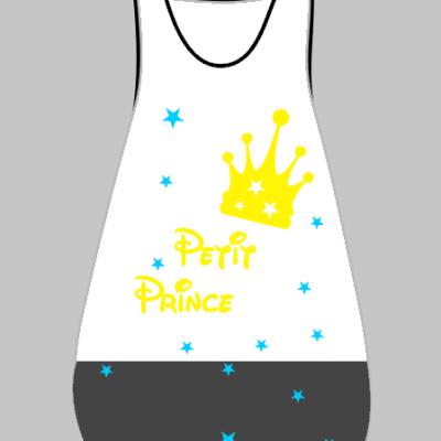 Gigoteuse HIVER  prince(sse) et couronne - A personnaliser - Différentes couleurs
