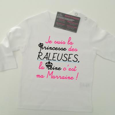 Tee shirt ML - Je suis le(la)  prince(sse) des râleurs(euses)