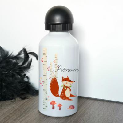 Gourde alum - modèle renard