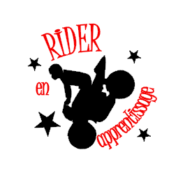 Tee shirt enfant ML - rider ou rideuse en apprentissage