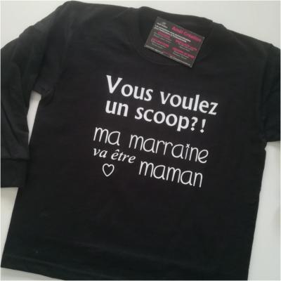 Tee shirt ML - Vous voulez un scoop?...