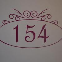Sticker boites aux lettres numero ovale 3